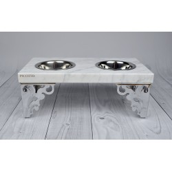 Bufet dla psa GLAMOUR - Carrara
